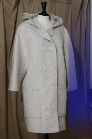 Manteau réversible en cachemire