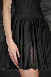 Robe noire A. ALAIA
